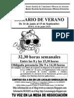 Cartelu-horariu de Vranu1