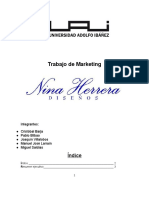 Plan de Marketing Nina Herrera