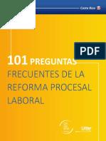 101 Preguntas Frecuentes de La Reforma Procesal Laboral