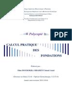 Calcul Pratique Des Fondations