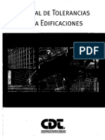 manual de torelerancias para edificaciones