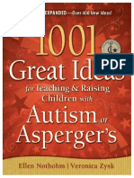 1001 Great Ideas for Teaching and Raising Children With Autism or Asperger's - Ellen Notbohm , Veronica Zysk
