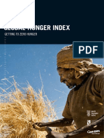 Global Hunger Index 2016