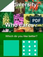 Biodiversity Who Cares Slide Show