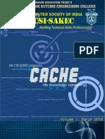 Cache Csi Sakec Magazine