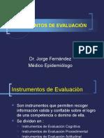 Instrumentos de Evaluaciòn 2016