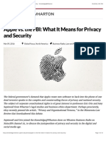 Apple vs. the FBI
