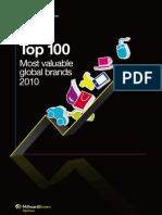 2010 Brands Top100 Report