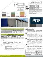 Ficha Tecnica de Bloques de Concreto Perforacion Vertical