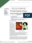 Guggenheim. El estudio fotográfico del pintor. EL CORREO DIGITAL