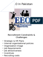 EEO in Pakistan