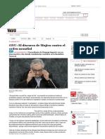 Semana - El Discurso Poético de Mujica Contra El Orden Económico Mundial