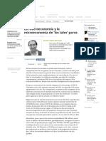 Suarez, Aurelio - La Macroeconomía y La Microeconomía de 'Los Tales' Paros