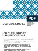 I Cultural Studies