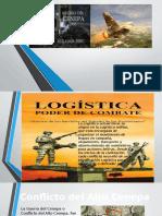 La Logística en El Conflicto Del Alto CENEPA