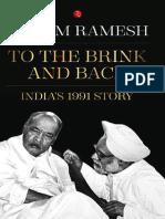 To the Brink and Back_ India's - Jairam Ramesh