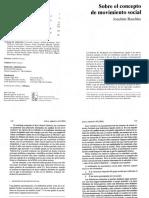 Raschke Joachim, Sobre El Concepto de Movimiento Social. Zona Abierta Nro.69, 1994, Siglo XXI, México, 1994. p. 121-134.