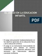 El Juego en La Educacion Infantil