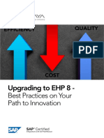 Panaya eBook SAP EHP8