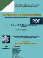 PRESENTACION DEL CURSO METRADOS Y PRESUPUESTOS.pdf