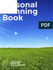 Personal Planning Book