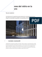 Aplicaciones del vidrio en la arquitectura.docx