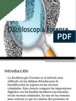 dactiloscopia forense