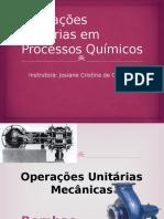Operações Unitárias II - Bombas