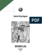 JLR 14 46 21_1E - Defender Electric Wiring Diagrams (LHD) - VIN 760595 Onwards