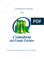 Plan Operativo Anual_2015