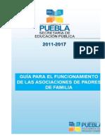 Guia Para El Funcionamiento de Asociaciones de Padres de Familia Ciclo Escolar 2016-2017