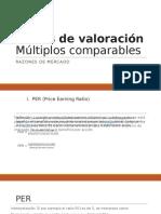 Indeces de Mercado_multiplos Comparables