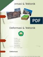 Deformasi & Tektonik