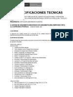 Especifciaciones Dispocision de Excretas.docx
