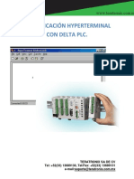 Hyperterminal PLC