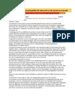 Chapitre 14 - Les Premiers Secours Et Les Services Médicaux d'Urgence