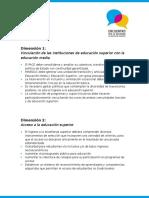 Manifiesto del encuentro por la inclusión en la educación superior