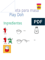 Receta Play Doh