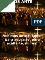 VENIMOS ANTE TI.pptx