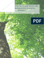 Repository REPORT Sascha Jansz - The Effect of the Estimated Service Life on the Sustainability of Vacancy Strategies