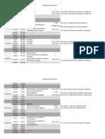 Cronograma de Bioquimica