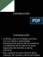 Intro a La Profecia Biblica