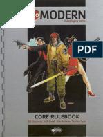 D20 Modern - Core Handbook