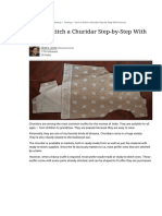 How to Stitch a Churidar Step-by-Step With Pictures | FeltMagnet
