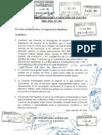Megacomisión para Humala