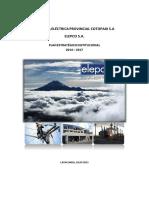 Plan Estrategico 2014 2017 Elepcosa