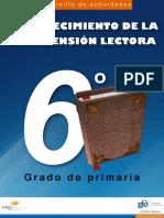 Cuadernillo de Actividades - Fortalecimiento de La Comprension Lectora - 6 Grado de Primaria