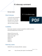 Robocopy Guide CMD