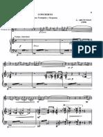 Concierto - Arutunian (Piano)