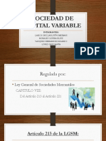 Sociedad de Capital Variable